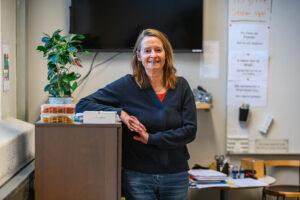 Bild på en kvinnlig lärare